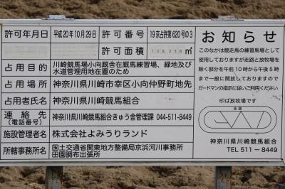 川崎競馬場の河川占有許可