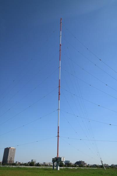 電波を送る「送信空中線」