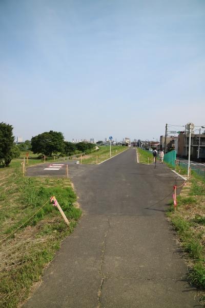 堤防の完成区間