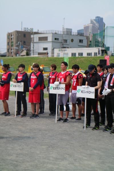 富士通・NECのスポーツ部の皆さん