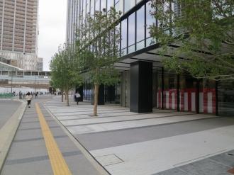 「TKS武蔵小杉ビル」周辺の公開空地