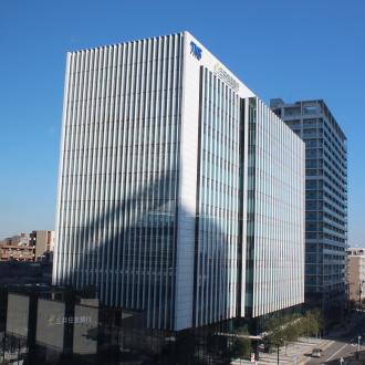 今後各企業の入居が予定されるTKS武蔵小杉ビル