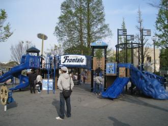 等々力緑地の「子どもの遊び場」