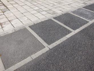 舗装のサンプル
