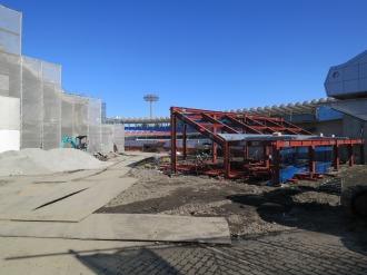 等々力陸上競技場メインスタンド改築工事
