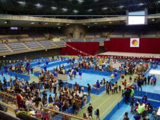 川崎市青少年フェスティバルの会場