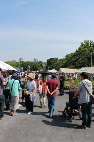 「花と緑の市民フェア」「川崎市畜産まつり」が同時開催された等々力緑地