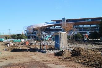 硬式野球場・プールの解体工事
