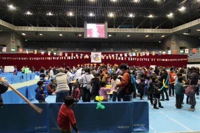 「川崎市青少年フェスティバル」が開催されたとどろきアリーナ