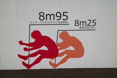 走り幅跳びの世界記録・日本記録