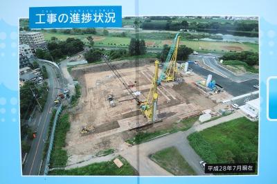 2016年7月時点の工事進捗状況