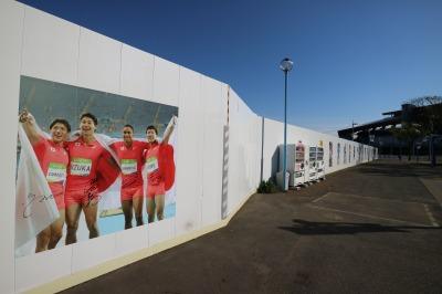リオオリンピック 男子400mリレーの写真