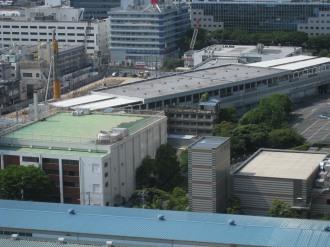 東急武蔵小杉駅ビル予定地と西街区・東街区