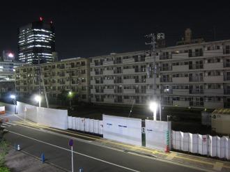 無人となった新丸子社宅