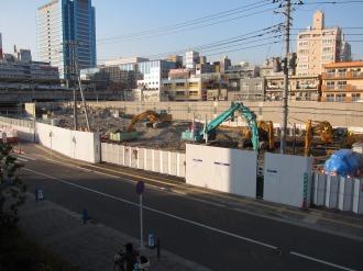 東京機械製作所「新丸子社宅」解体跡地