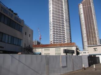 綱島街道から見た第一工場
