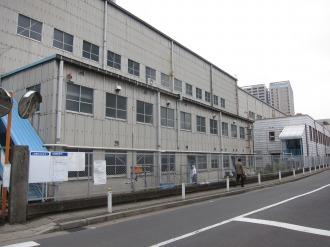 第一工場の南側