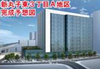 東京機械製作所オフィスビルのイメージパース