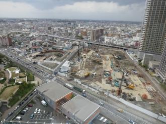 東京機械製作所玉川製造所跡地(左:第二工場、右:第一工場)