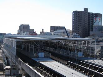 東急武蔵小杉駅ビル建設予定地