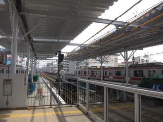 武蔵小杉駅の10両編成対応ホーム延伸