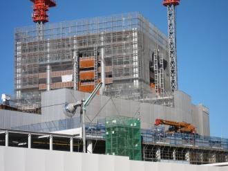 東急武蔵小杉駅ビル建設予定地とエクラスタワー武蔵小杉