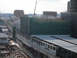東急武蔵小杉駅ビル建設工事