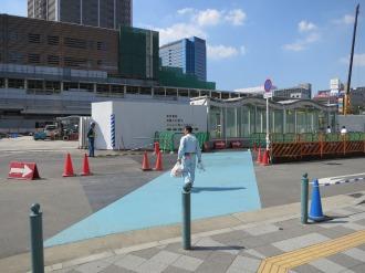 東街区の横断歩道の移設