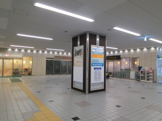 東急武蔵小杉駅改札前