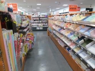 有隣堂アトレ川崎店の文具売り場