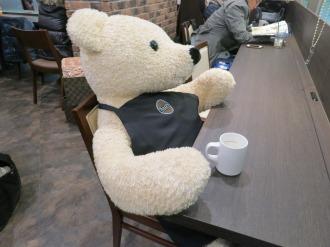 タリーズコーヒーの熊さん