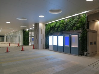 武蔵小杉東急スクエアの1階入口