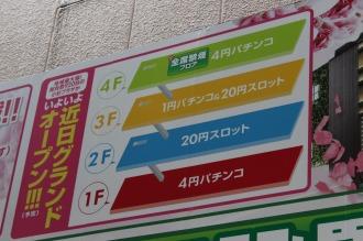 「KOSUGI PLAZA」新店舗のフロア構成