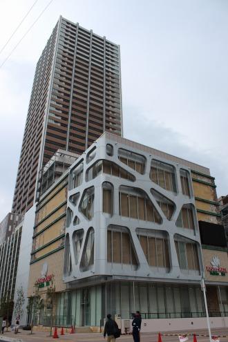「KOSUGI PLAZA」新店舗の全景