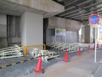 「武蔵小杉高架下駐輪場」