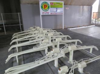 「武蔵小杉高架下駐輪場」の設備
