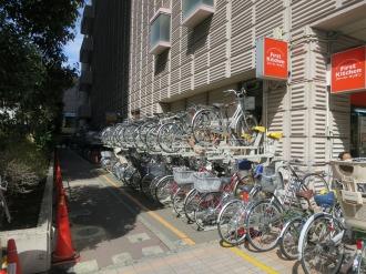 イトーヨーカドー武蔵小杉店の駐輪場