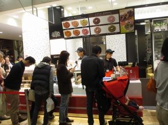 武蔵小杉東急スクエアの「ぐるチュロ」店舗