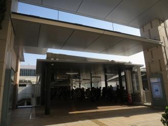 武蔵小杉東急スクエア2階の接続口