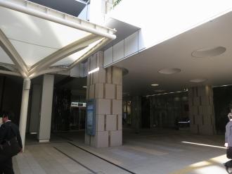 武蔵小杉東急スクエア1階の東急線改札側入口