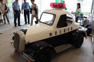 中原警察署によるミニパトカー撮影会