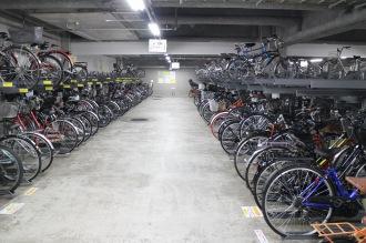 武蔵小杉東急スクエア地下駐輪場