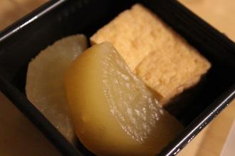 和惣菜「大根と厚揚げの煮物」