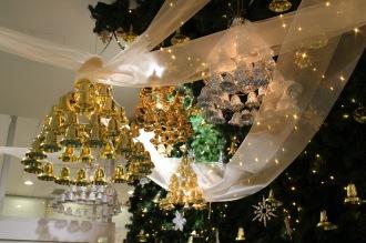武蔵小杉東急スクエアのクリスマス飾り付け
