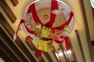 ららテラス武蔵小杉のクリスマス飾り付け