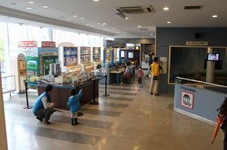 電車とバスの博物館の館内