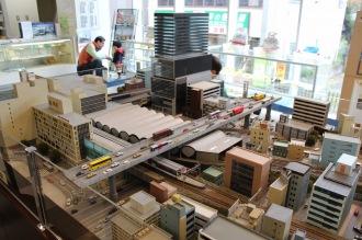 渋谷駅周辺の模型