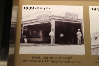 1939年「東横線 工業都市駅」