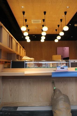 立ち喰い寿司ゾーン