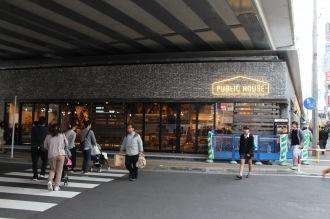 東急武蔵小杉駅南口高架下商業施設